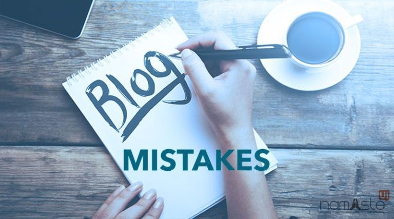 The Most Common Blogging Mistakes to Avoid
