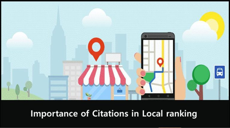 Importance of Citations in Local ranking