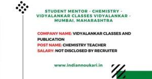Student Mentor Job