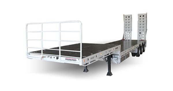 Truck Trailer Types: What Is a Drop Deck Trailer?