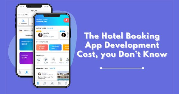 The Hotel Booking App Development Cost, you Don't Know