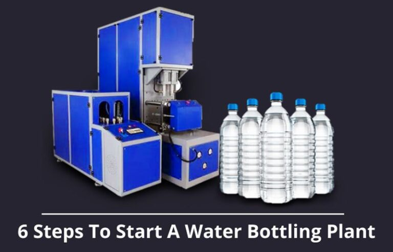 6 Steps to start a water bottling plant
